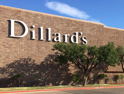 Jewelry Store in Dillard's at Music City Mall - Odessa TX