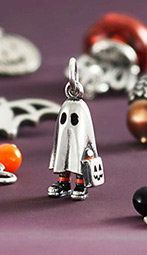 James Avery unveils new bedsheet ghost <q>Trick or Treater</q> charm
