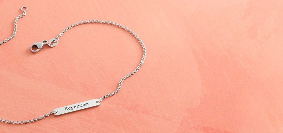 New Horizon Ankle Bracelet - Make yours personal with engraving