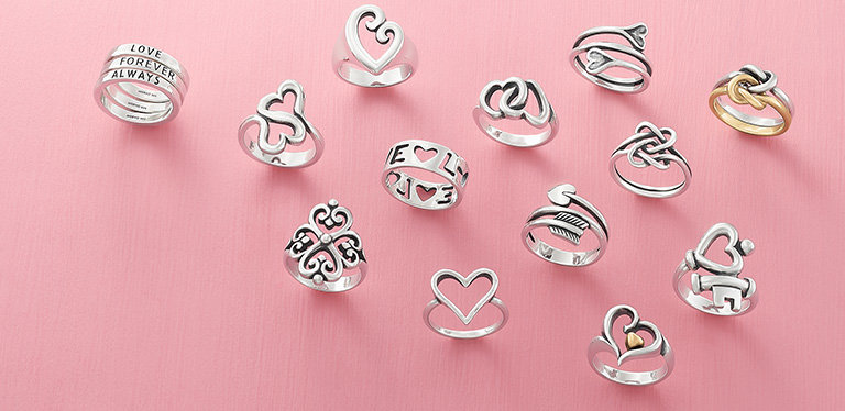 Forever & Always - an assortment of rings