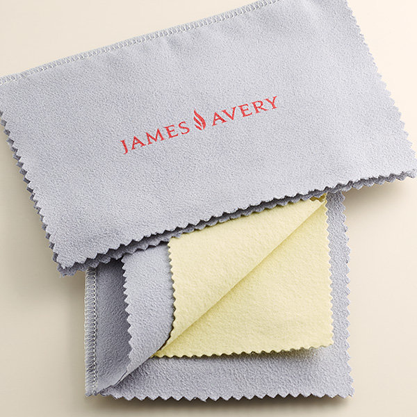 The James Avery Bronze and Silver Polishing Cloth.