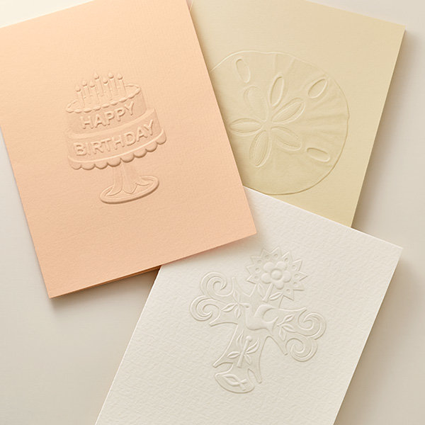 An assortment of James Avery greeting cards.