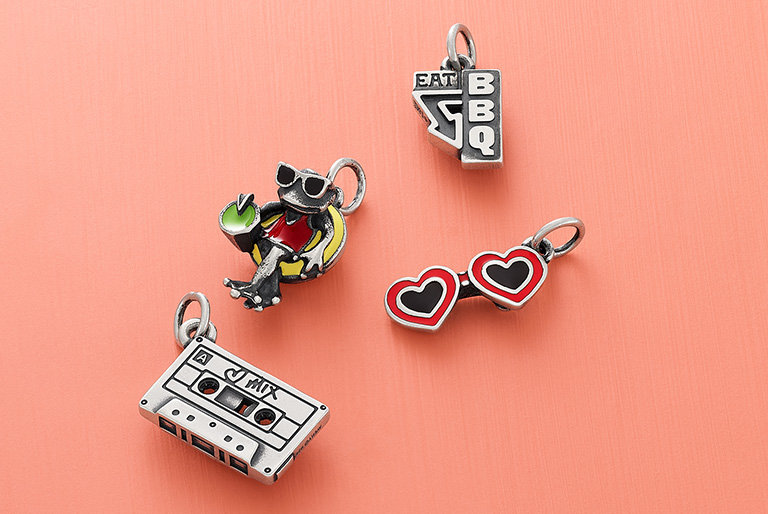 An assortment of new charms for summer.