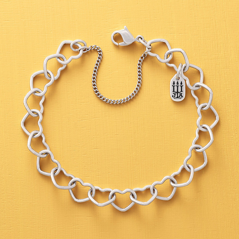 The Connected Hearts Charm Bracelet