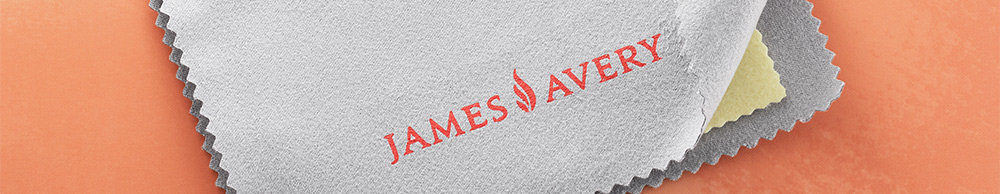 James Avery Bronze and Silver Polishing Cloth