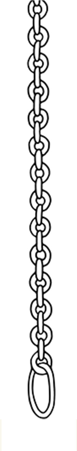 Sketch of Fine Cable chain
